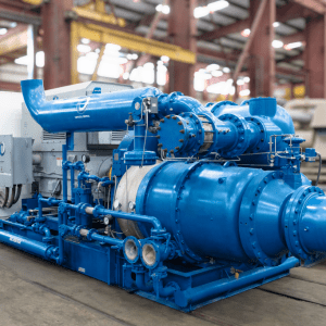 Integrally Geared Centrifugal Air Compressors
